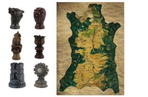 [Amazon] Game of Thrones Karte und Marker Set