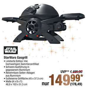 [Metro (ab 30.11.)] Broil Chef Star Wars Gasgrill