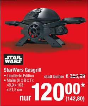 [Metro (ab 25.01.)] Broil Chef Star Wars Gasgrill