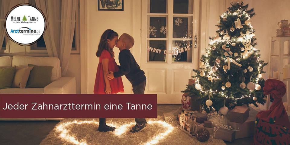 Black Friday Weihnachtsbaumaktion arzttermine.de
