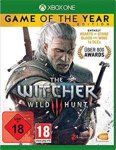 [Amazon] The Witcher 3 GOTY PS4 / Xbox One 18,97€+5€ Versand