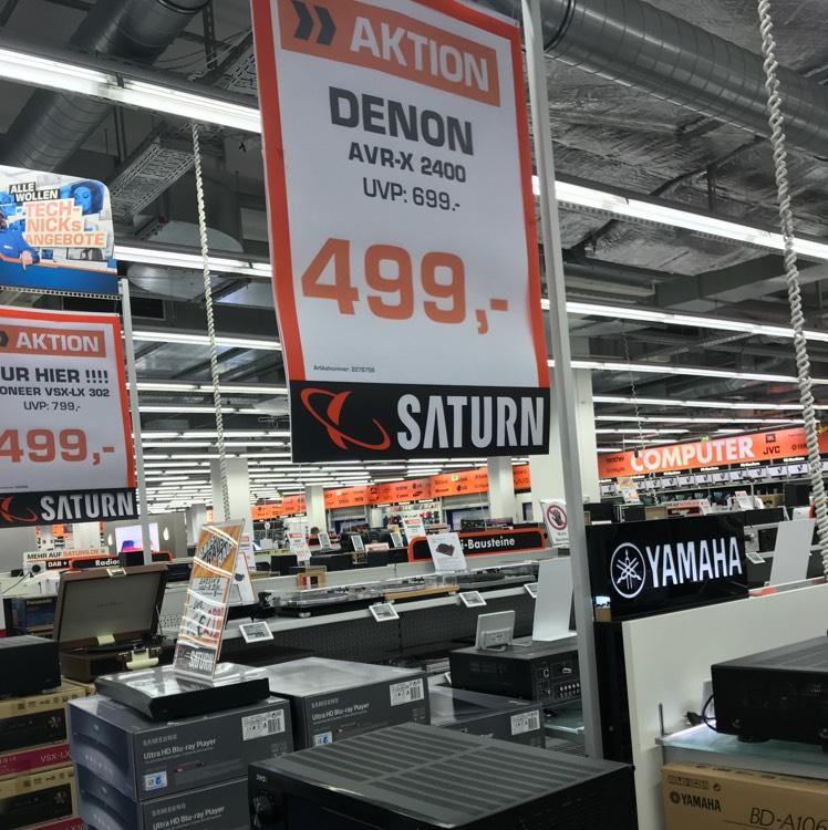 [Saturn Essen] Hifi AVR Denon x2400h zum Spitzenpreis!