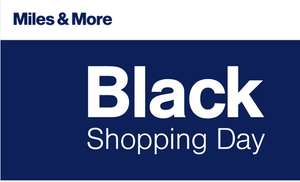 miles & more Black Shopping Day -25% (ab 3.000 Meilen)