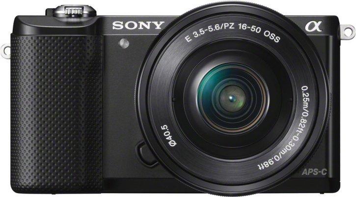 SONY Alpha 5000 +16-50mm schwarz (ILCE-5000LB) Kompakt Systemkamera DSLR für 288€ [mediamarkt.at]