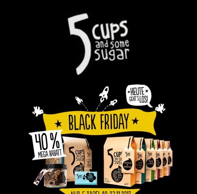 [5 Cups and some sugar] 40% Rabatt auf Tee- und Geschenksets