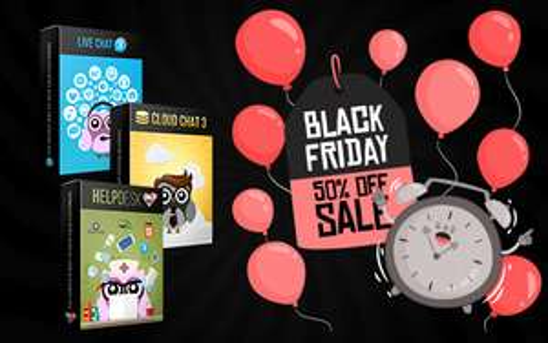 50% auf Live Support Software von Jakweb, Black Friday Special
