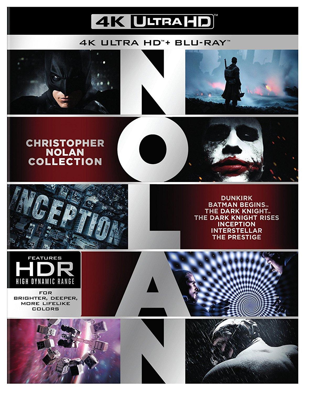 [Vorbestellung Januar 2018] Christopher Nolan 7 Film Collection [MediaMarkt] 4k/UHD (21 Discs)