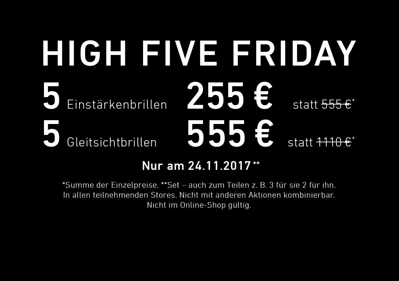 www.eyesandmore.de FÜNF Gleitsichbrillen am 24.11.2017 für 555,00 Euro aufteilbar unter mehreren Leuten