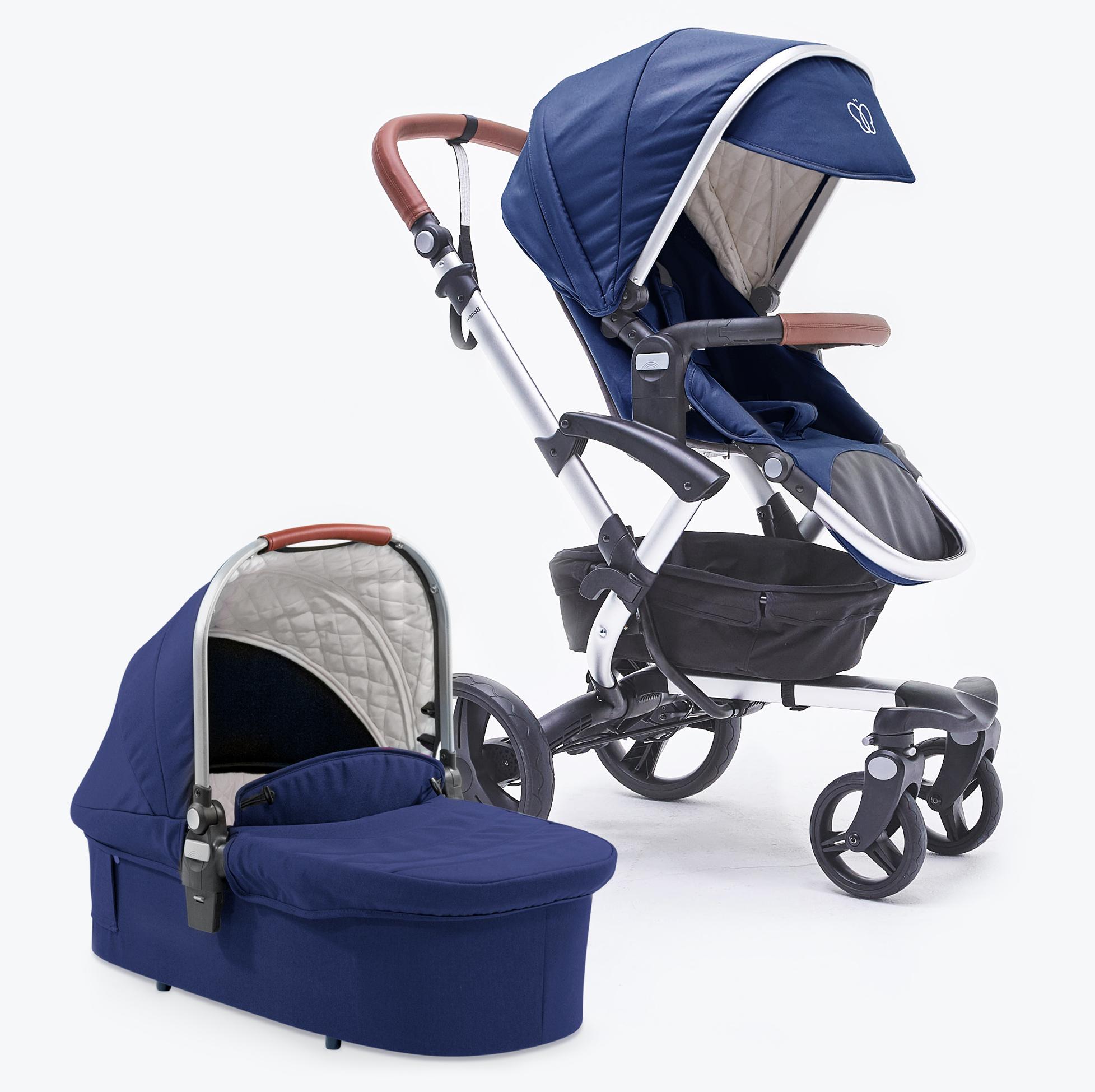 Bonavi Kinderwagen Kombikinderwagen Babywanne+Sportsitz+Komplettpaket (Online-Shop)