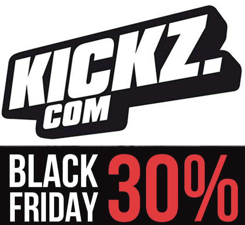 KICKZ AB SOFORT 30% AUF FAST ALLES IM ONLINE SHOP CODE: BLACKSALE