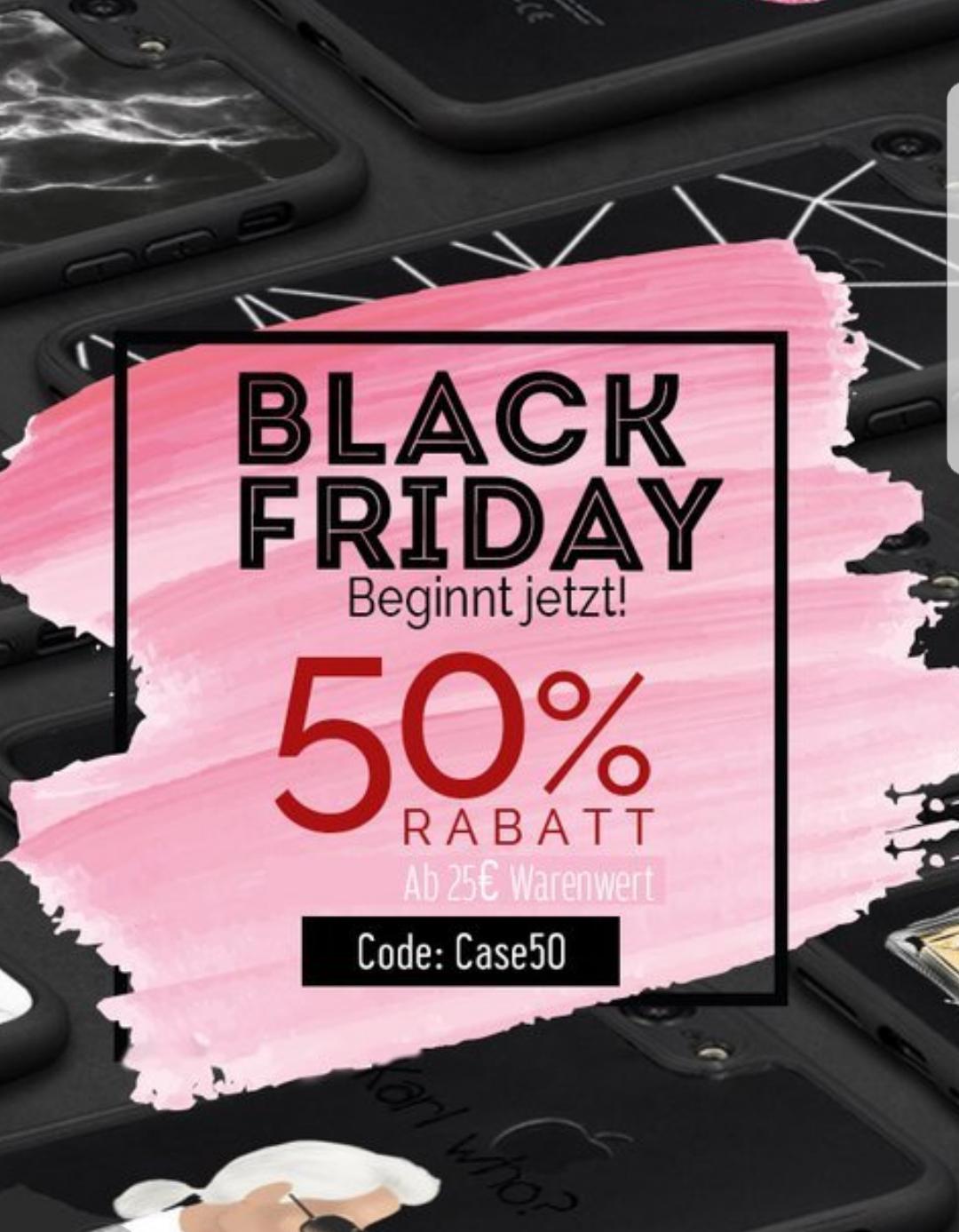 Mrstraps (Handyhüllen u. Zubehör) - Black Friday mit 50% Rabatt ab einen Mbw von 25 Euro