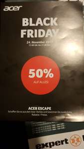 [Schweiz] Acer Outlet Store Dietikon mit 50% Rabatt (Black Friday)
