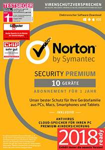 Norton Security Premium 10 Geräte