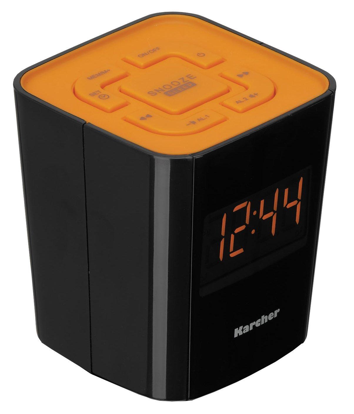 Wird spät heute: Karcher Radiowecker für 9€ inkl. Versand bei Digitalo
