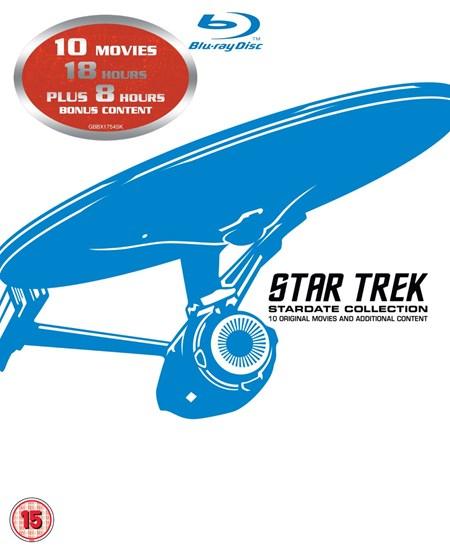 Star Trek 1-10 Stardate Collection (Blu-ray) für 25,40€ (Zoom)