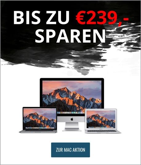 Mactrade MAC kaufen mit 50€/100€ Rabatt plus JBL Flip 4 gratis