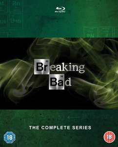 Breaking Bad - Die Komplette Serie (Blu-ray + UV Kopie) für 30,60€ (Zoom.co.uk)