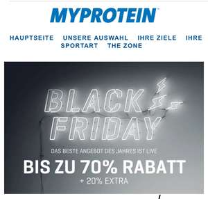 BAD Black Friday MyProtein