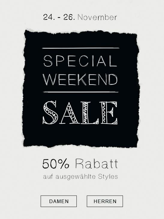 [Online und LOKAL Köln ggf. Bundesweit] Kauf dich Glücklich | Special Weekend 50% auf ausgewählte Teile
