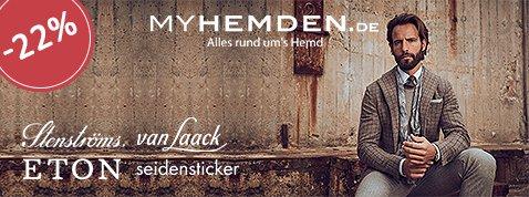 Black Friday 22% Rabatt auf Stenströms, Eton, Van Laack uvm.