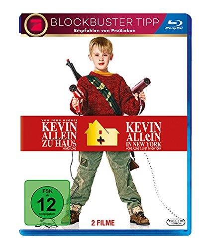 [Amazon.de] Kevin allein zu Haus Box 1&2 (Blu-ray) für 7,52 €