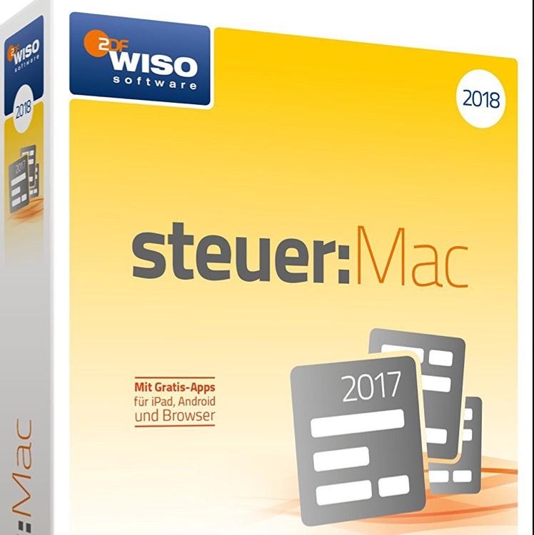 [Amazon] WISO Steuer:Mac 2018