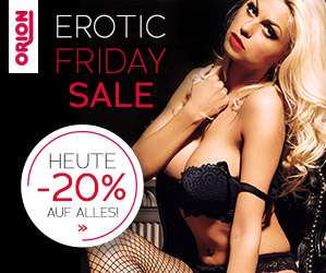 20% Rabatt auf fast Alles bei Orion am Erotic Friday (24.11.2017)