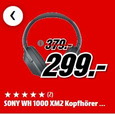 [Mediamarkt] [Amazon (vorbestellbar)] Sony WH-1000XM2