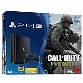 PS4 1TB  Pro Version  mit Cod WW2 und Fifa 18