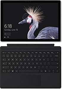 Surface Pro 2017 mit m3/4GB/128GB SSD + Type Cover bei Amazon.de !