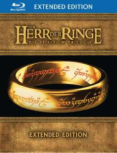 Amazon: Herr der Ringe Trilogie Extended Edition (Bluray) für 34,97€