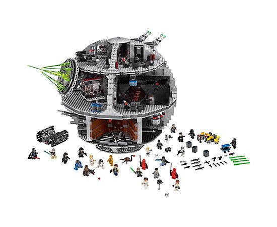 Lego Todesstern (Lego Shop) + Nussknacker