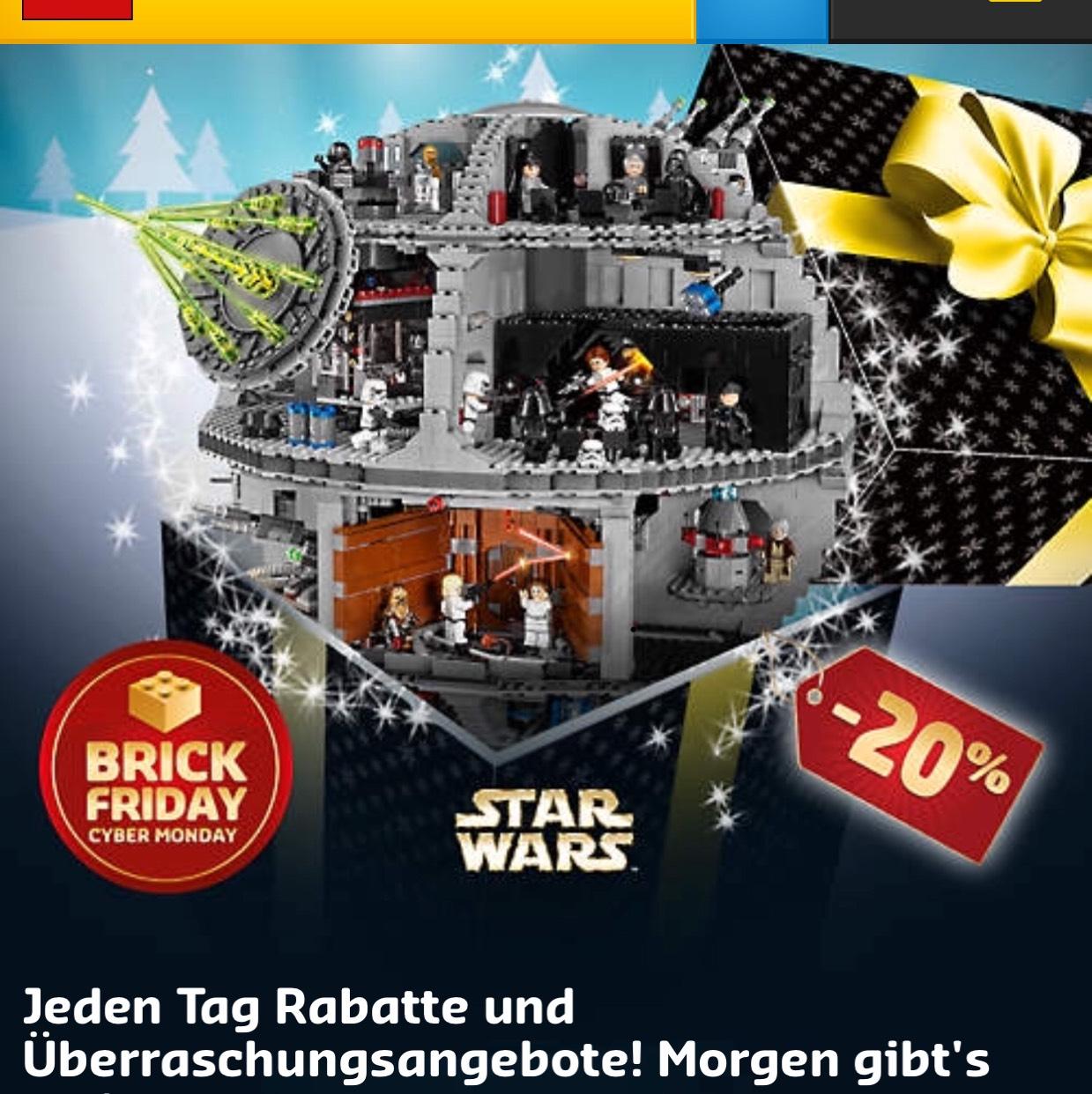 Lego Star Wars Death Star 75159 bei Lego direkt für 399€ + Nussknacker