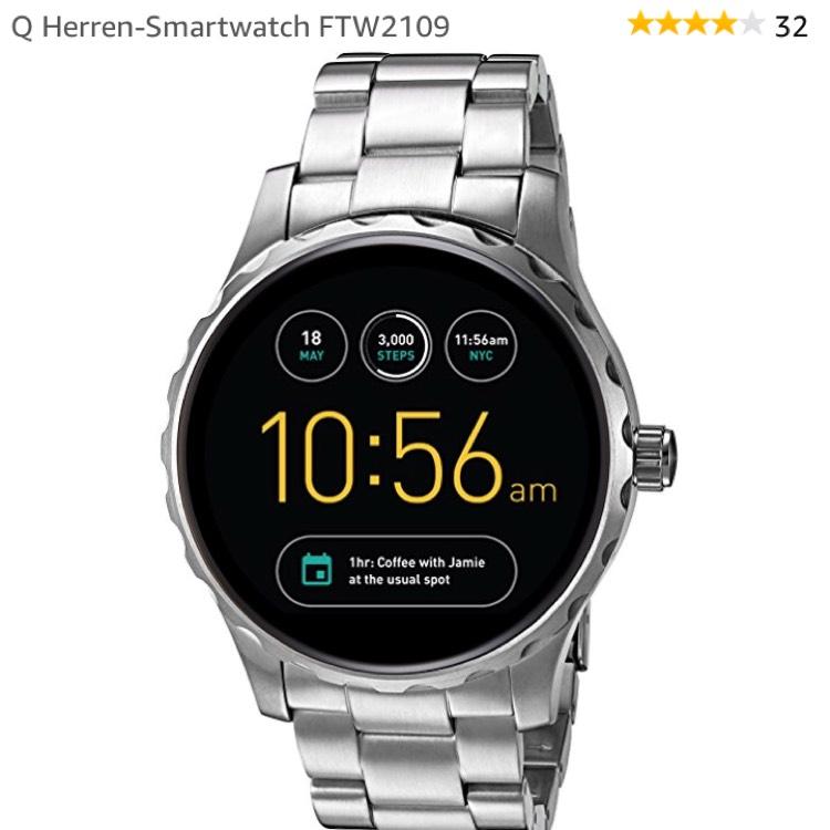 Fossil Smartwatch und Uhren ab 99€