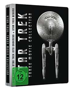 Star Trek - Three Movie Collection Steelbook Limited Edition (Blu-ray) für 16,97€ (Amazon Prime)
