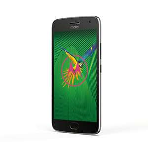 "Lenovo Moto G5 Plus (5,2"", 32GB, Android 7, Octa-Core) in Grau"