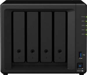 Synology Diskstation DS918+; 4GB Ram 453,99€ [Cyberport]