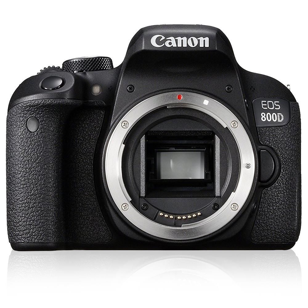 Canon 800D Body(595) + Canon Cashback(100)// für 495€