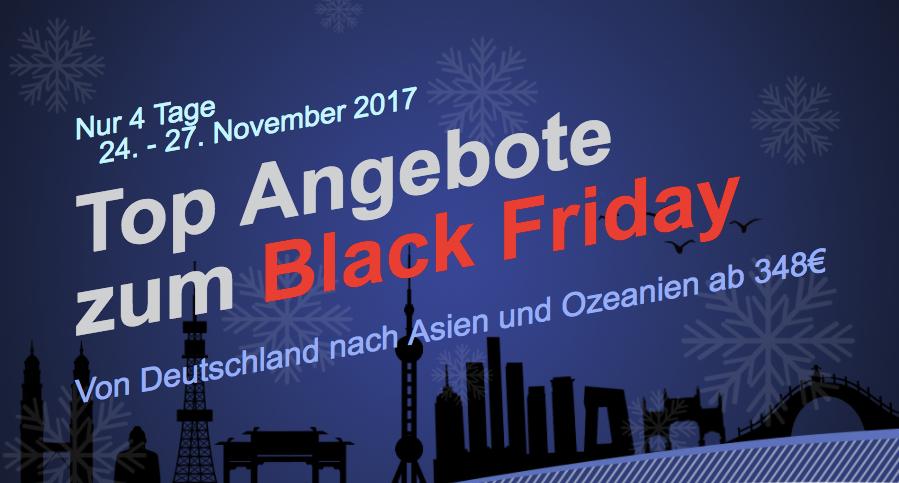 Blackfriday: Mit AirChina nach Australien und Neuseeland Eco ab 632 EUR und Business ab 1.492 EUR