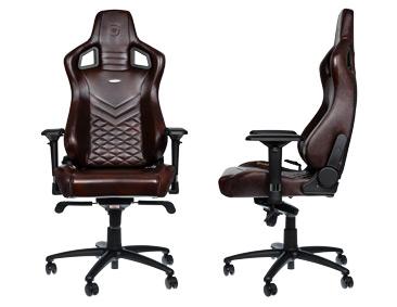 EPIC Echtleder Gaming Stuhl für 399 (-28%)