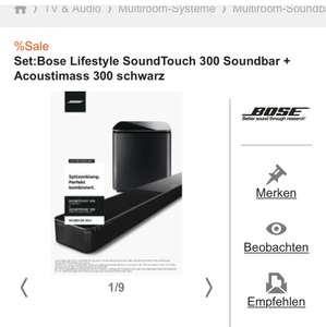 Bose soundtouch 300 + acoustimass 300