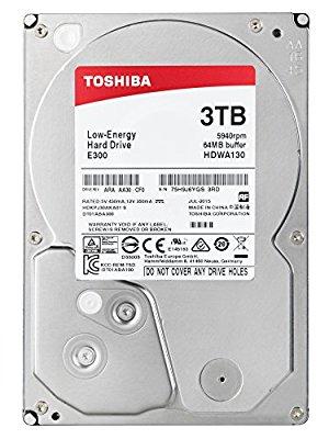 Toshiba E300 3TB für rund 63€ von Amazon UK