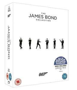 James Bond Collection (24x Blu-ray + Digitale Kopie) für 42,50€ (Amazon.co.uk)