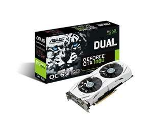 ASUS GeForce GTX 1060 DUAL OC - 6GB
