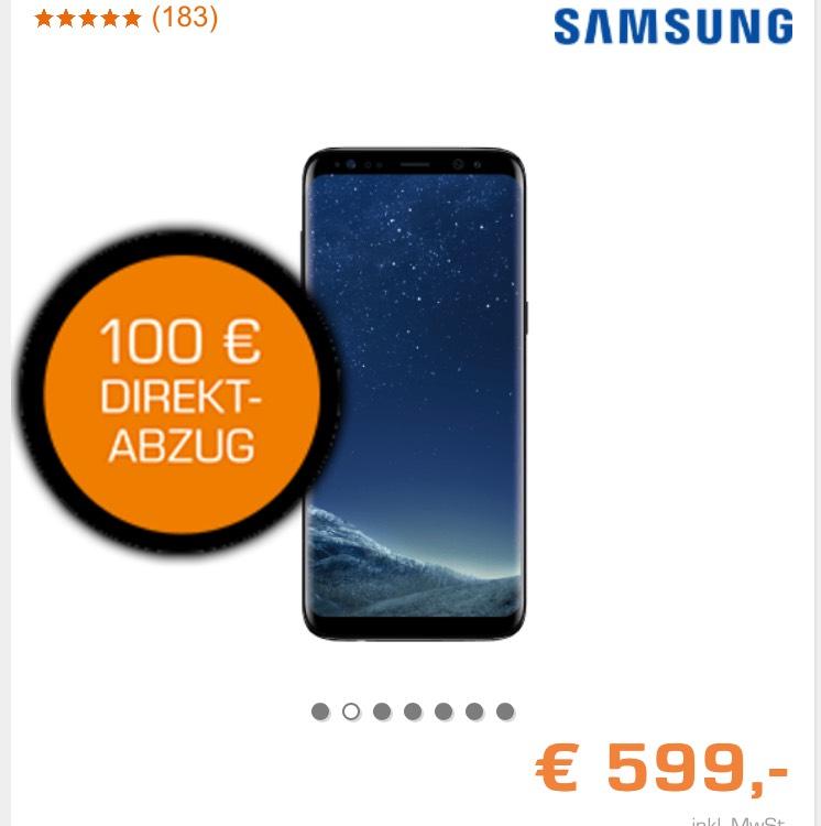Samsung Galaxy s8 für nur 499€