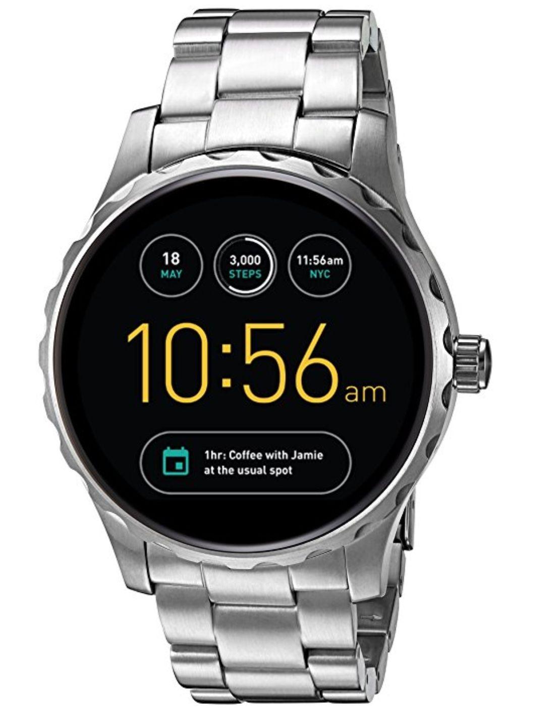 [amazon] Fossil Q Herren-Smartwatch FTW2109