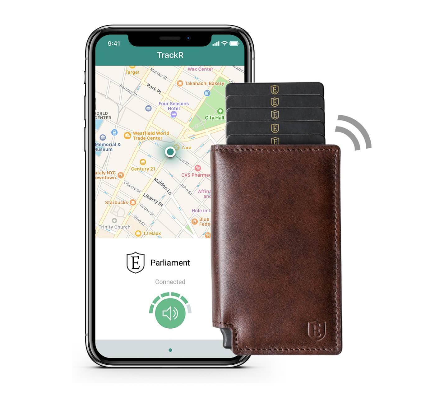 Ekster Smart Wallet (RFID Blocker + Tracker)