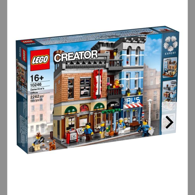 GALERIA Kaufhof- Lego Detektivbüro  10246 für 118,99 plus Payback Punkte