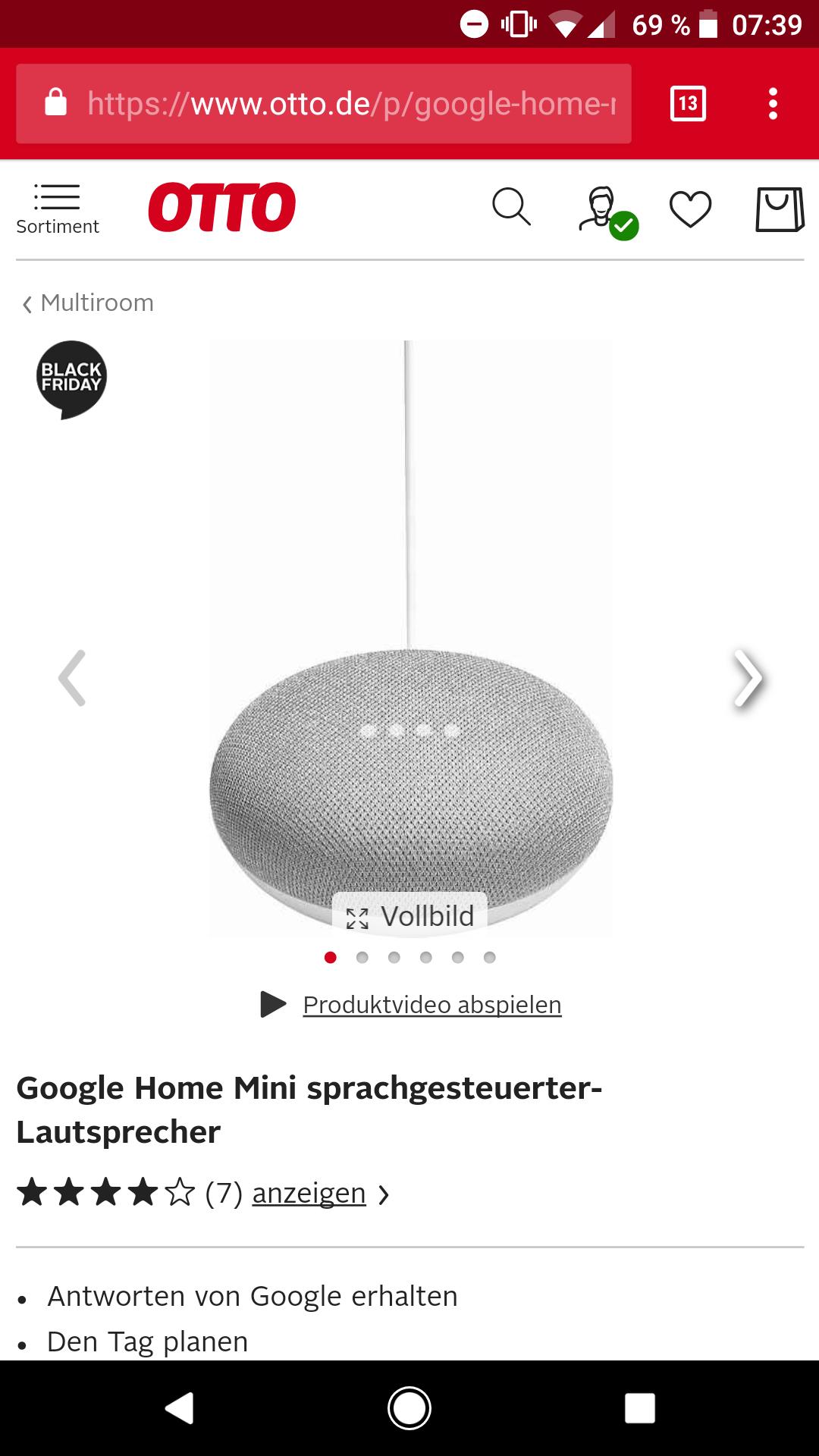 Google Home mini nochmal deutlich günstiger
