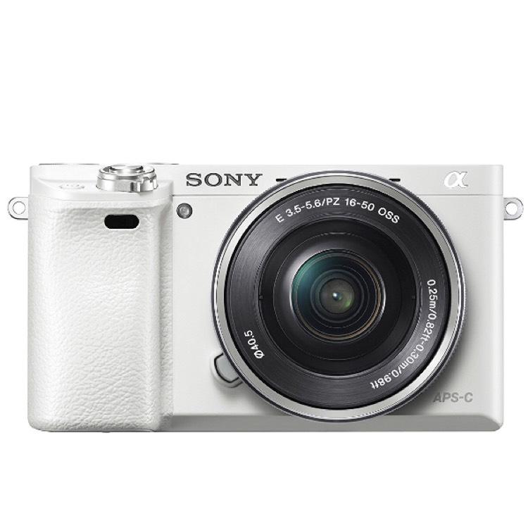 Sony Alpha 6000 weiß